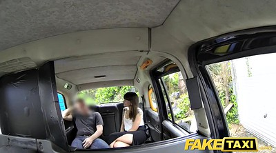 Taxi, Brunette anal, Anal ball