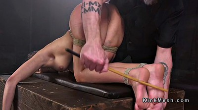 Tied up, Tied, Caning, Caned, Bdsm feet
