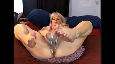 Webcam, Mature masturbation