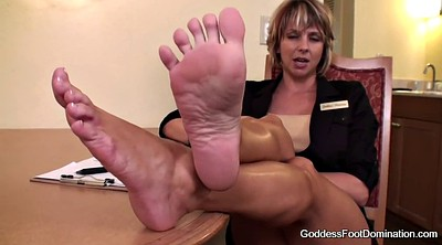 Foot job, Interview, Job interview