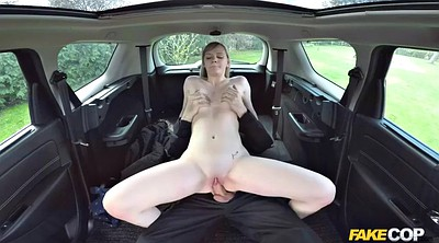 Handjob, Fake cop, Pov doggy