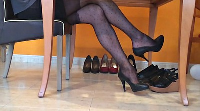Pantyhose, Nylon, Nylon foot, Pantyhose foot, Dangling
