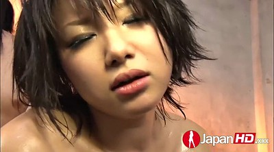 Japanese double, Hairy squirt, Japanese squirting, Asian threesomes