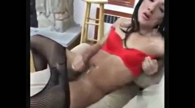 Squirting, Self, Part, Shemale pee