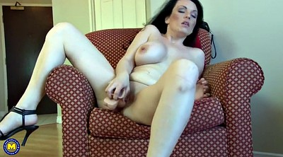 Rubber, Mature mom, Mom pussy, Fuck mom pussy, Busty mom