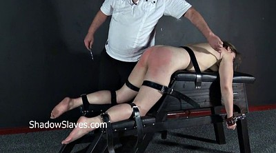 Leather, Whipped, Bondage feet, Leather fetish, Spanking punishment, Bdsm feet