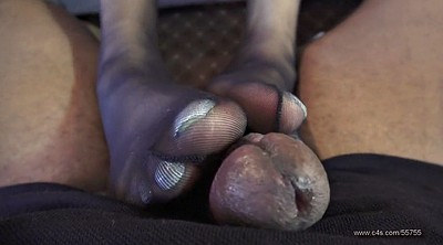 Foot, Pantyhose feet