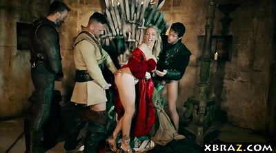 Gangbang, Parody, Game of thrones, Anal queen