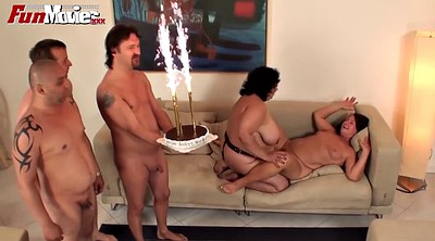 Mature group, Orgy