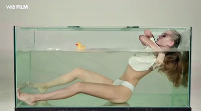 Nancy, Underwater, Perfect body, Dildo orgasm