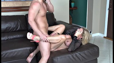 Blonde milf, Seduced