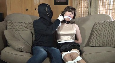 Gagged, Crossdresser bondage, Crossdress