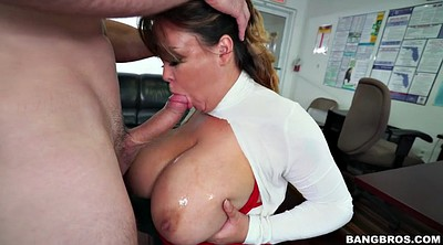 Brandi, Office bbw, Squeezing