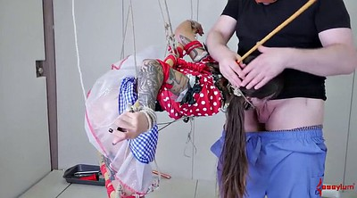 Small girl, Bondage gay