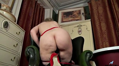 Mature masturbation, Pantyhose mature, Take off, Granny lingerie