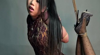 Chinese, Chinese bdsm, Chinese bondage, Hanging, Hogtied, Asian bondage