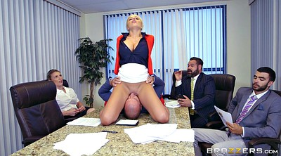 Nina, Nina elle, Milf boss, German office