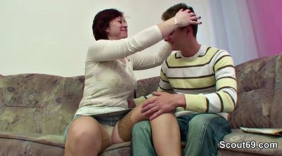 German, Granny solo, Step mom, Son mom, Step son, Mom fuck son