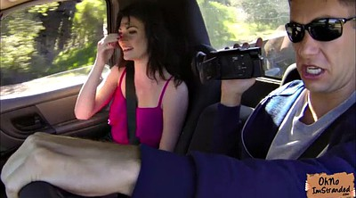 Monster, Hard spanking, Car masturbation, Hard spank