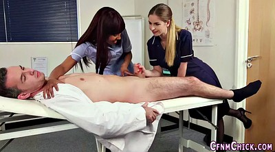Uniform, Uniforms, Nurse handjob