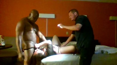 Wife threesome, Motel, Amateur wife threesome