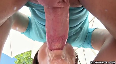 Ava addams, Ass licking, Throat fuck, Fuck throat, Addams, Chubby milf