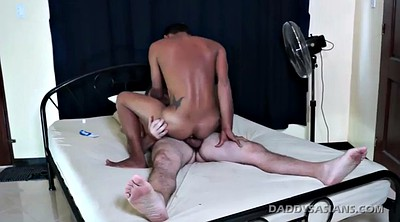 Horny, Daddy gay, Old gay, Asian kissing