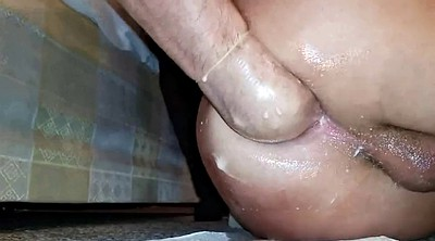 Prolapse, Gaping, Prolapse fisting, Train masturbation