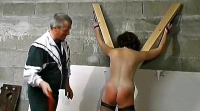 Spank, Tied up, Mature bondage