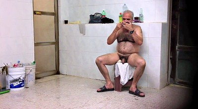 Voyeur shower, Shower voyeur, Gay dad, Bathhouse