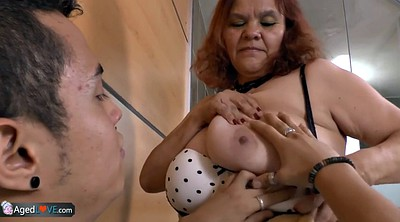 Mature latina, Fat granny, Bbw latina