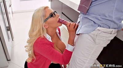 Nicolette shea, Clothed blowjob