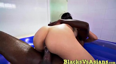 Asian, Asian black, Asian massage, Asian big dick, Take a shower, Ebony massage