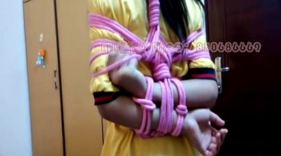Asian feet, Asian tied, Tie