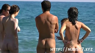 Nudist beach, Nudist