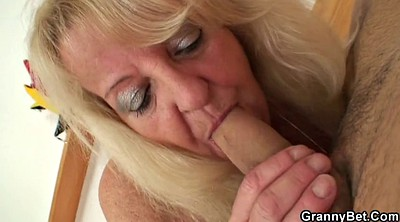 Mature ebony, Old and young, Old mature