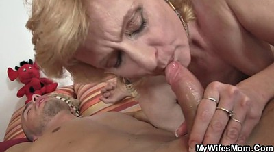 Older, Older mom, Mom helps, Law, Cum in mom