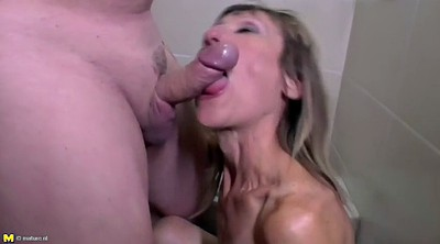 Brutal, Mature blowjob