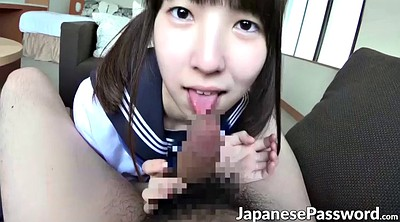 Schoolgirl blowjob, Huge facial, Asian schoolgirls, Asian huge