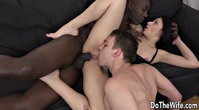 Hot wife, Black couples, Anal interracial