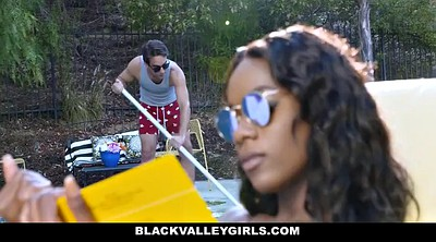 Small boy, Ana foxx, Blacke, Pool boy