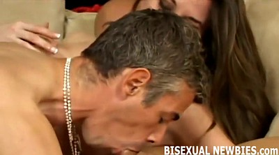 Threesome kissing, Bisexual, Help, Kissing threesome, Gay first, First gay