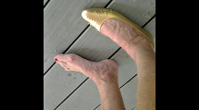 Shoes, Mature foot, Mature feet
