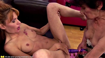 Young mom, Mature and young lesbians
