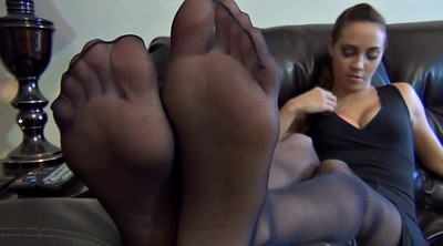 Sasha, Nylon feet, Nylon tease, Nylon foot, Feet tease