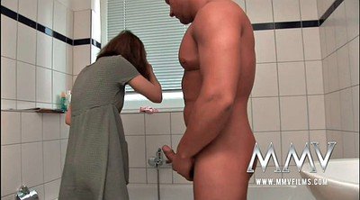 Bath, German mature, Showering