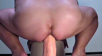 Dildo ride, Ruined, Gay big cock, Bbw dildo riding, Ruin, Huge toy