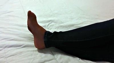 Nylon foot, Nylon foot fetish