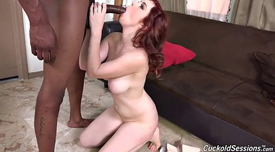 Big black cock, Cuckold creampie, Jerk