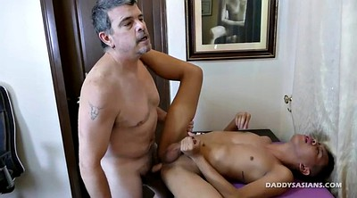 Gay daddy, Asian old, Old gay, Young asian